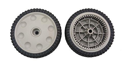 Genuine MTD 734-04018B Geared Drive Front Wheel for Troy Bilt, Cub Cadet (Front Wheel Drive Wheels)
