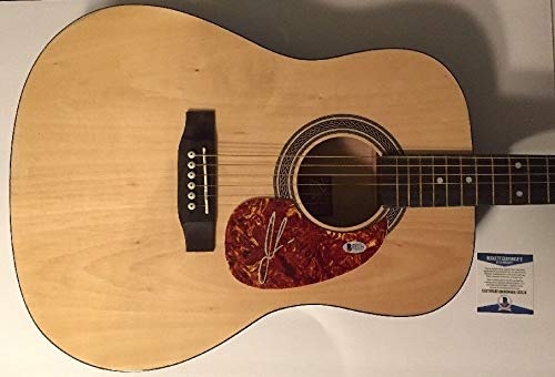 Jon Pardi Beckett Authentic Signature Guitar Autographed Signed Rogue Full Size Dust On My Boots