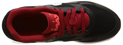 Nike Air Max St (Gs) 654288 Laufschuhe Training Jungen Mehrfarbig (Black / White-Gym Rd-Brght Crmsn)