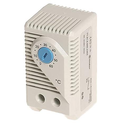 Termostato 0.. 60 °C para control de ventilador, buscador: Amazon.es ...