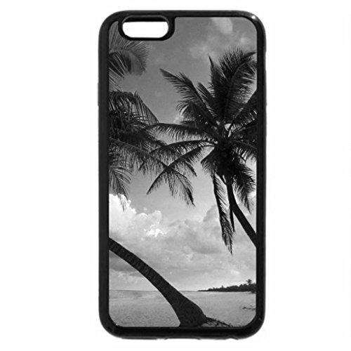 iPhone 6S Case, iPhone 6 Case (Black & White) - Exotic beach near Cancun, Mexico