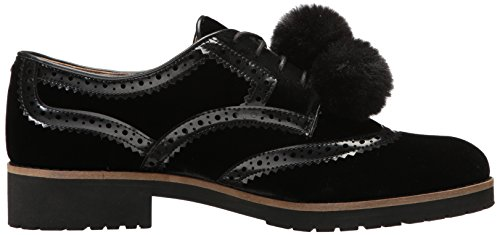 Sam Edelman Dames Dahl Oxford Zwart Velours