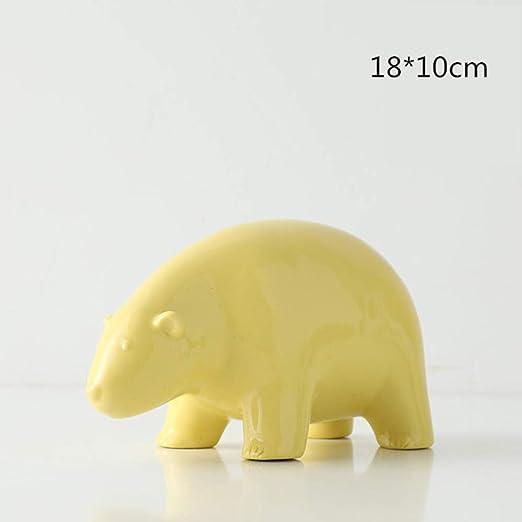 yueyue947 10cm / 25cm Figuras de cerámica de Animales Hogar ...