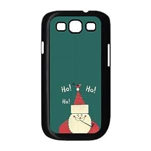 Santa Claus Merry Christmas 2013 Flat Samsung Galaxy S3 9300 Cell Phone Case Black Fantistics gift SJV_054420