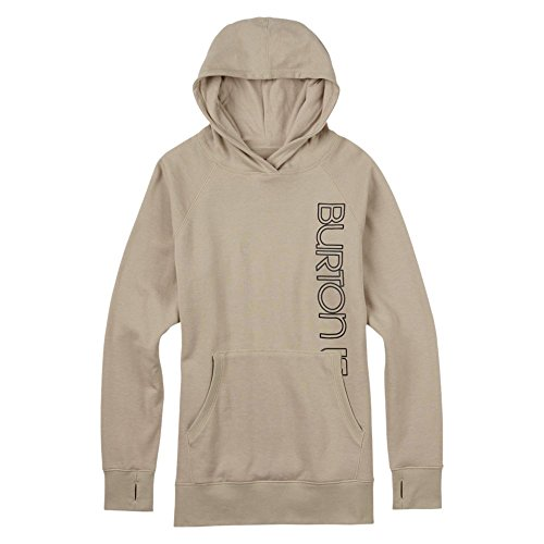 Burton Antidote Pullover Sweat-Shirt à Capuche Femme, Dove Heather, FR : XS (Taille Fabricant : XS)