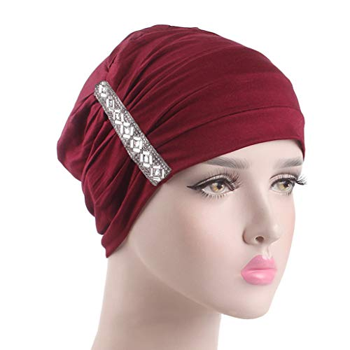 Chemo Hats Beanie Muslim Turban Headwear Headwraps for Women with Cancer Afterso