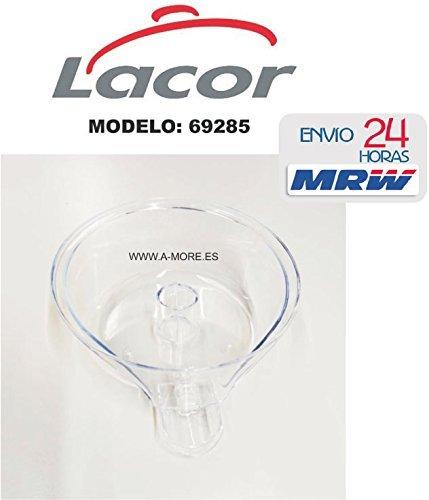 LACOR. Contenedor de Zumo Repuesto del exprimidor con Brazo 69285 (Solo VALIDO para Esta Marca Y Modelo): Amazon.es