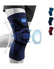 NEENCA Kniebrace, Kniecompressie Sleeve Ondersteuning met Patella Gel Pad & Side Spring Stabilizers,Medische Grade kniebeschermer voor hardlopen, Meniscus scheur, Artritis, Gezamenlijke Pijn Relief,Letsel Recovery