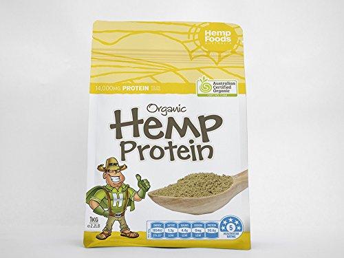 オメガ3 オメガ6 のバランスが抜群 【 ヘンプ プロテイン パウダー 】 1kg  ( 麻 の実 ) 必須脂肪酸 スーパーフード 菜食 B00ZQP57NY