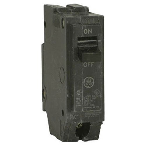 GE ENERGY INDUSTRIAL SOLUTIONS THQL1115 GE 15A SP Circular Breaker (Ge Circuit Single Pole Breaker)