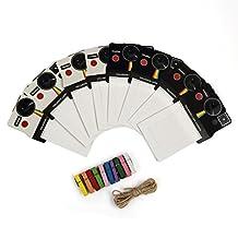 Polaroid Black/White OneStep Vintage Photo Frames for 2x3 ZINK Paper (Snap, Zip, Z2300)