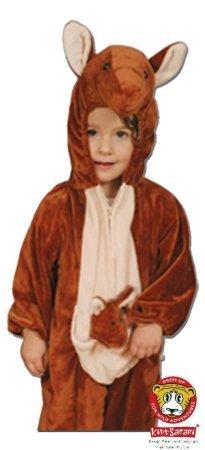 [Safari Plush Costume Kangaroo- Small] (Childrens Kangaroo Costume)