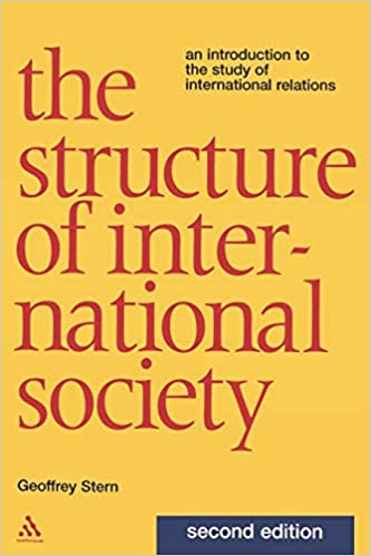 Amazon com: Structure of International Society: An Introduction to