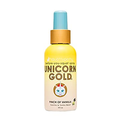 Squatty Potty Unicorn Gold Citrus Squeeze