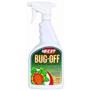 B.E.S.T. . 45032 Bug-Off Bug Remover Spray Bottle - 32 oz.
