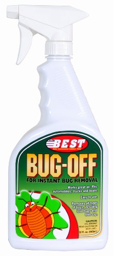 B.E.S.T. 45032 Bug-Off Bug Remover Spray Bottle - 32 oz.