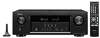 Denon AVR-S720W 7.2 Channel Full 4K Ultra HD AV Receiver with Built-In Wi-Fi and Bluetooth from Denon