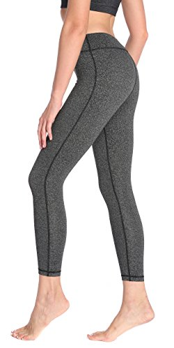 SILKWORLD Womens Pocket Workout Leggings