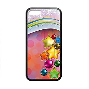 Christmas New Year Rainbow Phone Case for Iphone 5c