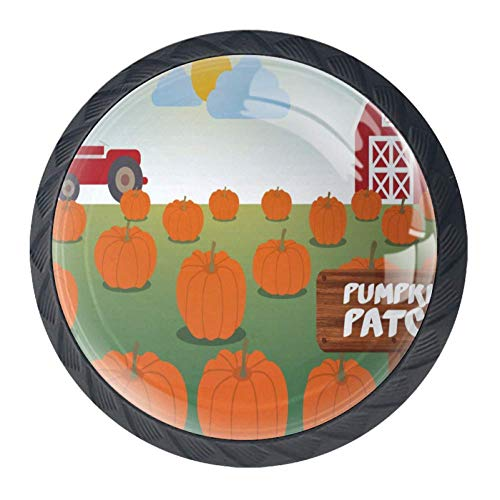 Pumpkin Patch Door - Idealiy Pumpkin Patch Cabinet Dresser Drawer Knobs Glass Pull Handle for Cabinet Door Wardrobe Cupboard