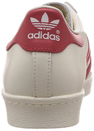 Adidas Superstar 80s Deluxe Sneakers Da Uomo Bianco vintage White S15-st scarlet off White