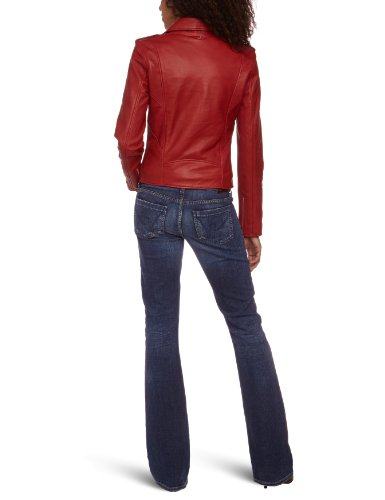 NYC Red Rouge Schott Blouson Femme qT6x70wv