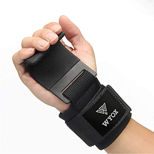 WYOX Power Weight Lifting Training Gym Gloves Straps Wrist Support Lift Workout