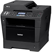 Brother MFC8510DN Monochrome Printer with Scanner, Copier and Fax, Amazon Dash Replenishment Enabled