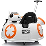 Baby Ride-On Push Around Buggy Scooter Toys for Kids Remote Control Car & Swing Car - White