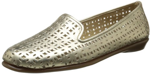 Aerosoles Damen Sie Betcha Slip-On Loafer Weiches Gold-Leder