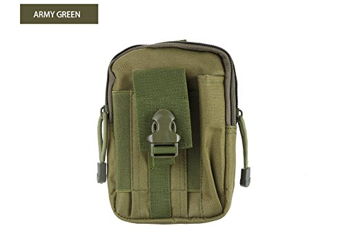 UPC 792855466086, Chinatmax Tactical Pouches Outdoor Sport Belt Waist Bag Pack Water Resistance Utility Gadget Pockets Cell Phone Holder Bag for Men, Women (Army Green)
