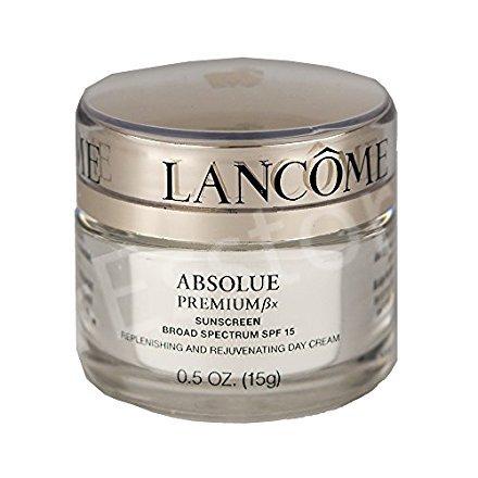 (Lancome  Absolue Premium Bx Advanced Replenishing Cream SPF15, 0.5OZ)
