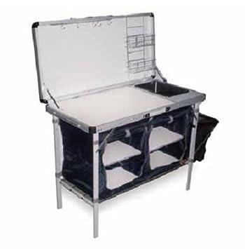 Mueble Cocina para camping COMBI PLUS. Dimensiones: 100 x 50 x 77 ...