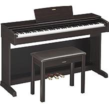 Yamaha YDP143R Arius Series Console Digital Piano with Bench, Dark Rosewood