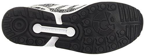 Core adidas Basses Black White Noir White Flux Footwear Footwear ZX Homme Baskets Rq7RpxY