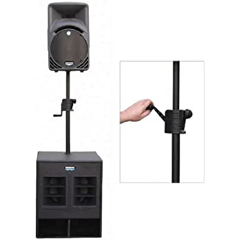 odyssey asce42 crank speaker extension pole speaker stand electronics. Black Bedroom Furniture Sets. Home Design Ideas