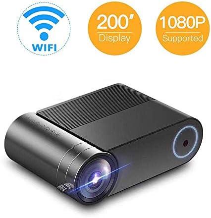 "1080P Mini Portable Projector, Max 140"" Display, 30000 Hou"