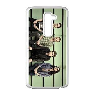 LG G2 Cell Phone Case White Kings Of Leon N6D0FC