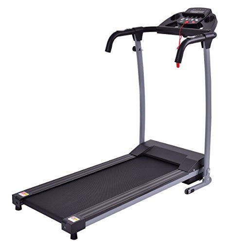 Goplus 800W Folding Treadmill Electric Motorized Power Fitness Running Machine W/Mobile Phone Holder...