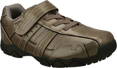 Skechers Boys Relaxed Fit Diameter Conroy,Gray,US 12 M