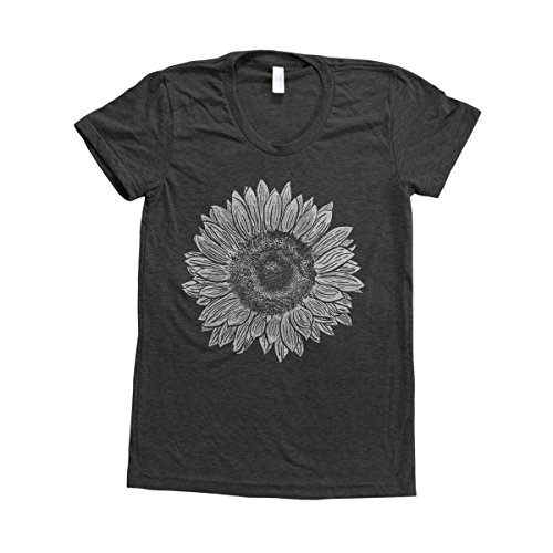 - Couthclothing Women's Sunflower Track T-shirt (XL, Black)