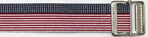 SkiL-Care Stars & Stripes Gait Belts, Bariatric, 72 inches