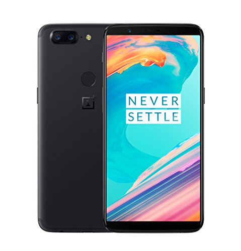 OnePlus 5T A5010 - 8GB RAM + 128GB - 6.01 inch - US Version with Warranty (Midnight Black)
