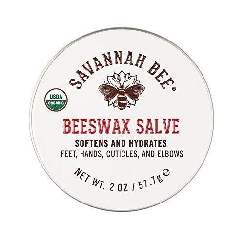 Savannah Bee Company Certified Organic Beeswax Salve - 2 Ounce