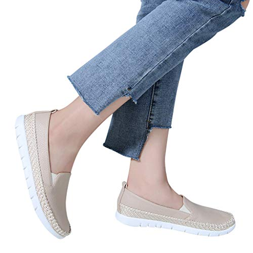 Todaies Casual Women's Shoes Hemp Rope Comfortable Lazy Shoes Single Shoes Peas Shoes