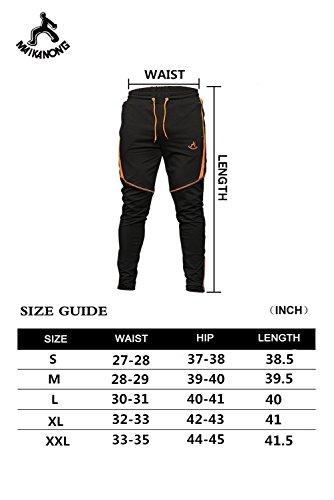 MAIKANONG Men's Jogger Pants with Zipper Pockets and Ankles Attractive Details by MAIKANONG (Image #7)