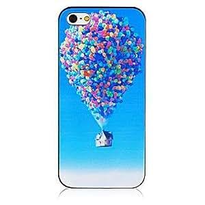 Casa globo patrón trasera para el iPhone 4 / 4s