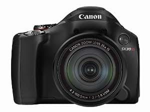 Canon  PowerShot SX30 IS - Cámara digital compacta de 14.1 MP - color negro (importado)