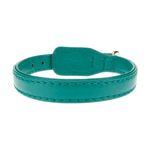 Bitch and Stud Chic Classic Italian Leather Dog Collar, Size