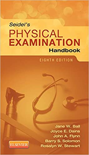 Seidels physical examination handbook e book mosbys physical seidels physical examination handbook e book mosbys physical examination handbook 8th edition kindle edition fandeluxe Image collections
